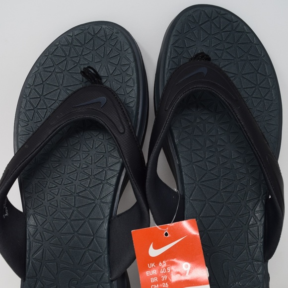 63a8888de2a6 ... Nike Thong Flip Flop Sandals Black 705481-090 New free delivery 764be  157e3 ...